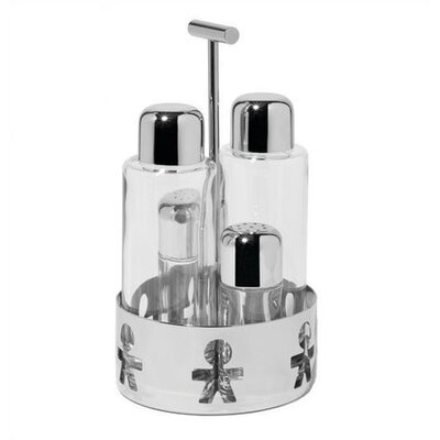 Alessi Girotondo Condiment Set by King Kong