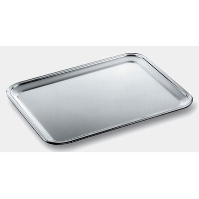 Alessi Ufficio Tecnico Alessi Rectangular Tray with Mirror Polished Edge