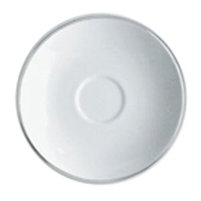"Alessi Mami Platinum 5.07"" Saucer for Coffee Cup"