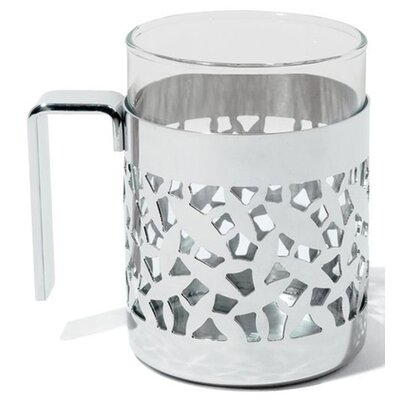 Alessi Marta Sansoni Cactus! Mug with Heat Resistant Glass
