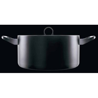 Alessi La Cintura Di Orione Cookware Stainless Steel Round Casserole