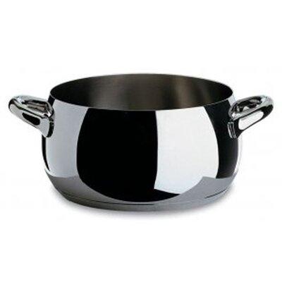 Alessi Mami Stainless Steel Round Casserole