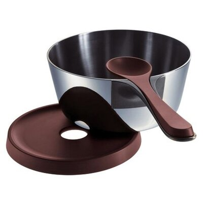 Alessi Patrick Jouin 89.3 oz. Pasta Pan with Lid, Spoon and Trivet
