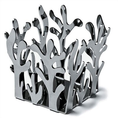 Alessi Mediterraneo by Emma Silvestris Stainless Steel Tealight Holder
