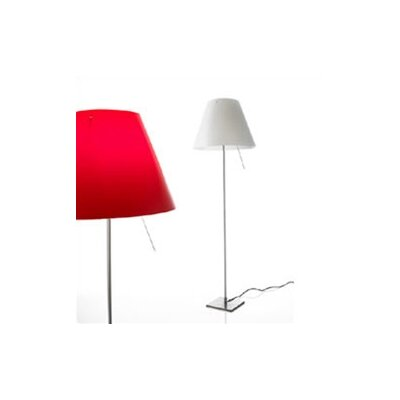 Luceplan Costanza On/Off Switch Floor Lamp with Optional Shade