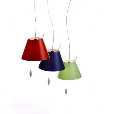 Luceplan Costanzina Suspension Lamp with Optional Shade