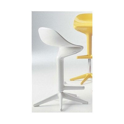 "Kartell Spoon 28"" Adjustable Bar Stool"