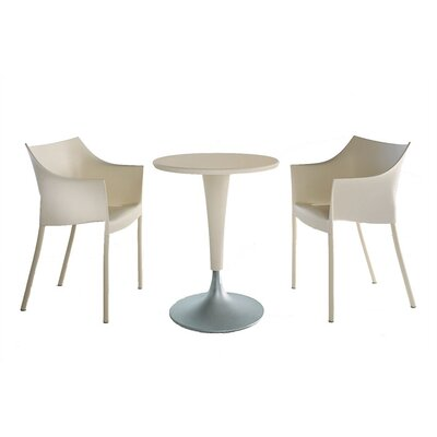 Kartell Dr. No 3 Piece Table Set