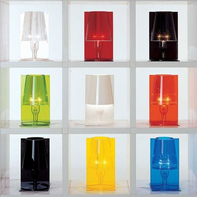 "Kartell Take 30"" H Table Lamp with Empire Shade"