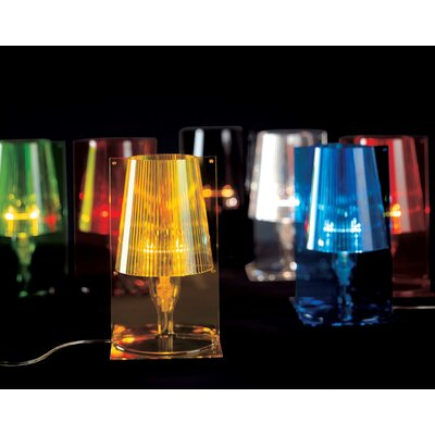 """Kartell Take 30"""" H Table Lamp with Empire Shade"""