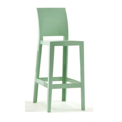 "Kartell ""One More, One More Please"" Barstool with Square Back"