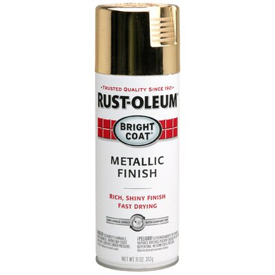 RustoleumStopsRust Gold Metallic Finish Spray Paint