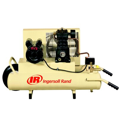 Ingersoll Rand 8 Gallon 2 HP Single Stage Electric Wheelbarrow Air Compressor