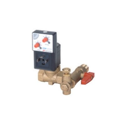 "Ingersoll Rand 114 / 120 V EDV-2000 Electronic Drain Valve with 0.5 BSP Outlet Pipe Connection and 0.44"" Orifice"