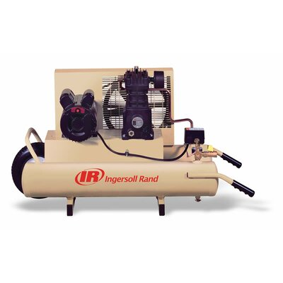 Ingersoll Rand 8 Gallon 3 HP Single Stage Electric Wheelbarrow Air Compressor