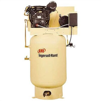 Ingersoll Rand 120 Gallon 175 PSI, 35 CFM, 10 HP Fully Packaged Type-30 Reciprocating Air Compressor