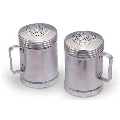 Stansport Aluminum Salt and Pepper Shaker