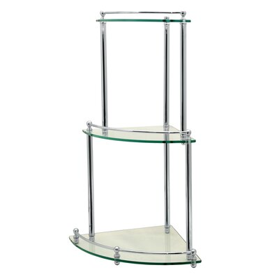 "Gatco Glass Taborets 20"" x 30"" Bathroom Shelf"