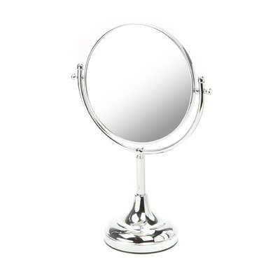 Traditional Magnifying Mirror in Chrome