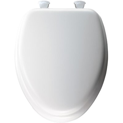 Molded Wood Decorator Soft Elongated Toilet Seat