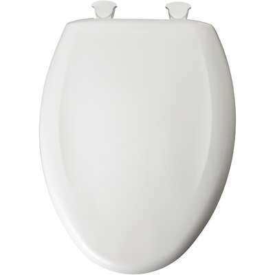 Plastic Elongated Toilet Seat