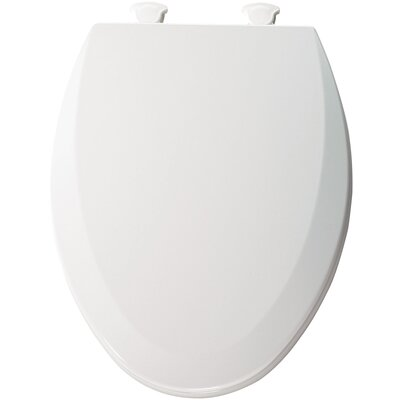 Molded Wood Elongated Toilet Seat