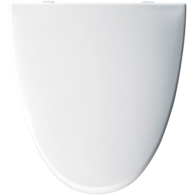 American Standard Molded Wood Solid Plastic Elongated Toilet Seat