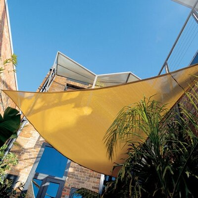 Coolaroo Premium Triangle Shade Sail Kit