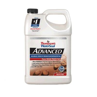 ThompsonsWaterseal 1 Gallon Rustic Red Advanced Tinted Wood Protector 21741