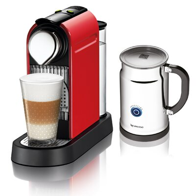 Nespresso Citiz Espresso Maker with Aeroccino Plus Milk Frother