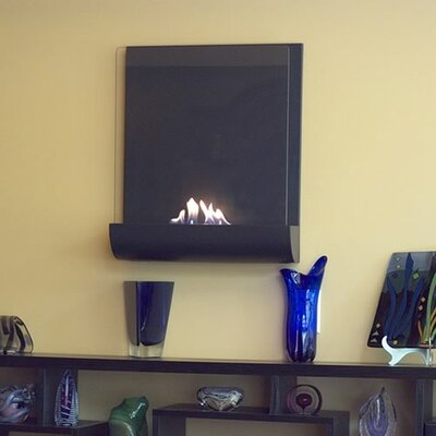 Vampa Wall Mounted Bio Ethanol Fuel Fireplace