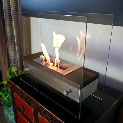 Bluworld Foreste Ardore Tabletop Bio Ethanol Fuel Fireplace