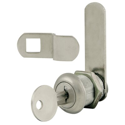Ultra Hardware Lawn & Garden Ultra 43805 Nickel Plated Disc Tumbler Cam Lock Kit