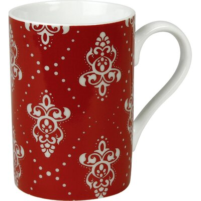 Waechtersbach Winter Splendor 10 oz. Rocaille Mug (Set of 4)
