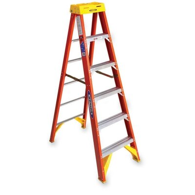 Werner 6' Fiberglass OE Step Ladder
