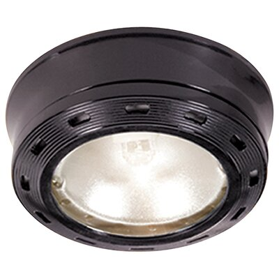GoodEarthLighting 5 Black Xenon Puck Light Kit G9165-BKX-I