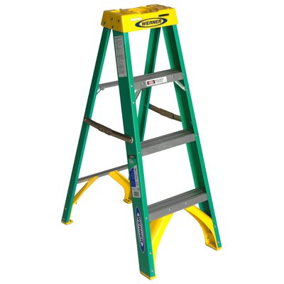Werner Fiberglass Step Ladder