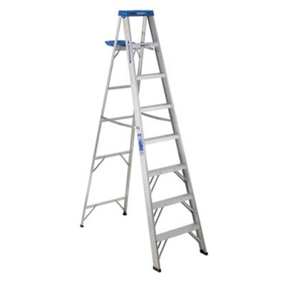 Werner 8' Aluminum Step Ladder