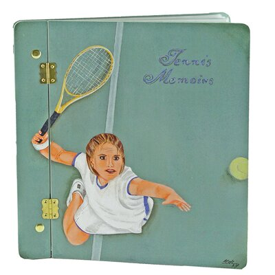 Lexington Studios Sport The Serve Large Book Photo Album