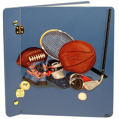 Lexington Studios Sports Little Athlete Book Photo Album