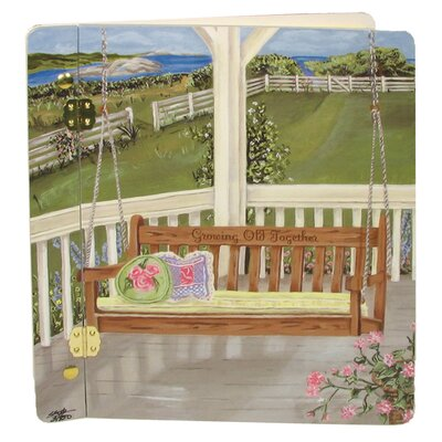 Lexington Studios Home and Garden Porch Swing Book Photo Album