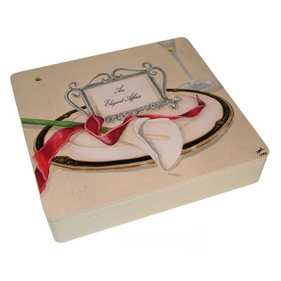 Table 4 Two Decorative Storage Box in Cream
