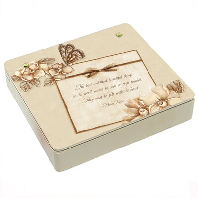 Magnolias Decorative Storage Box