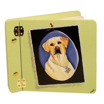 Animals Yellow Lab Mini Book Photo Album