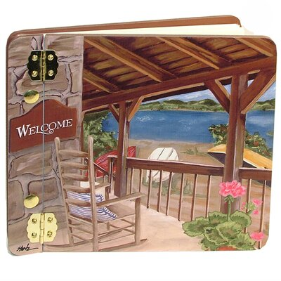 Travel and Leisure Lake House Mini Book Photo Album