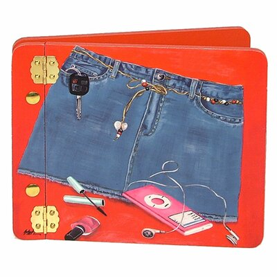 Lexington Studios Denim Blues Mini Book Photo Album