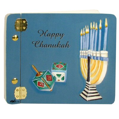 Judaica Chanukah Mini Book Photo Album