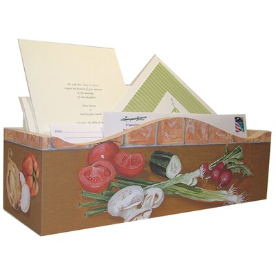 Lexington Studios Veggies Kitchen Horizontal Caddy