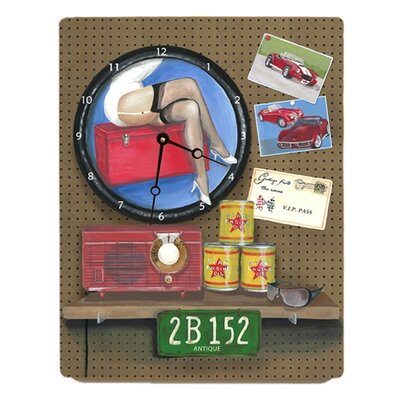 Lexington Studios Mike's Garage Large Clock