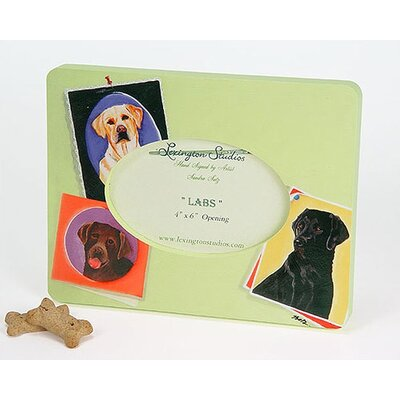 Lexington Studios Animals Labs Small Picture Frame